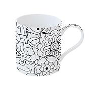 Art & Colour, 0,35l, Blumenmotiv